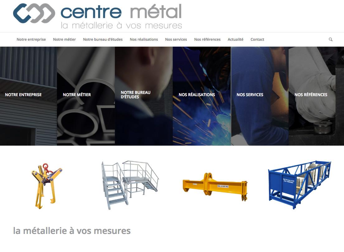 site web CENTRE METAL