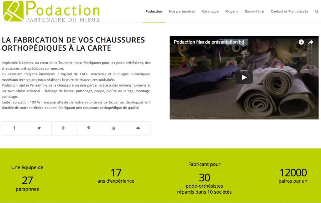 Site web PODACTION