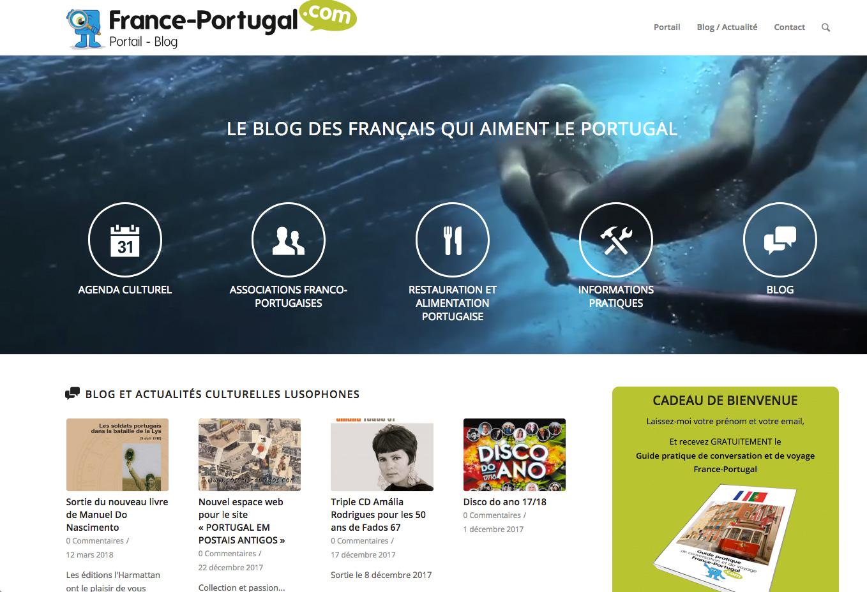 Portail - Blog France-Portugal.com